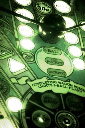 sales funnel pinball machine