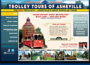 Gray Line Trolley Asheville